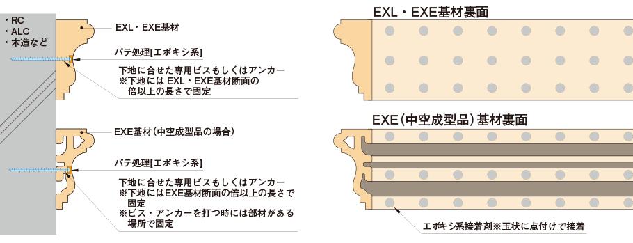 ceraEXL取付け概略図
